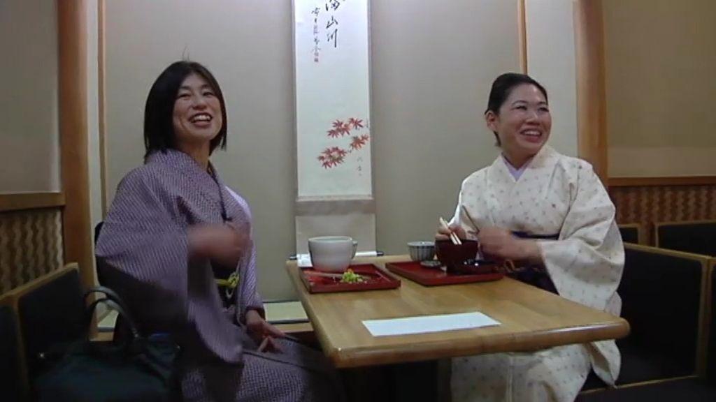 Japón, de la mano de dos japonesas