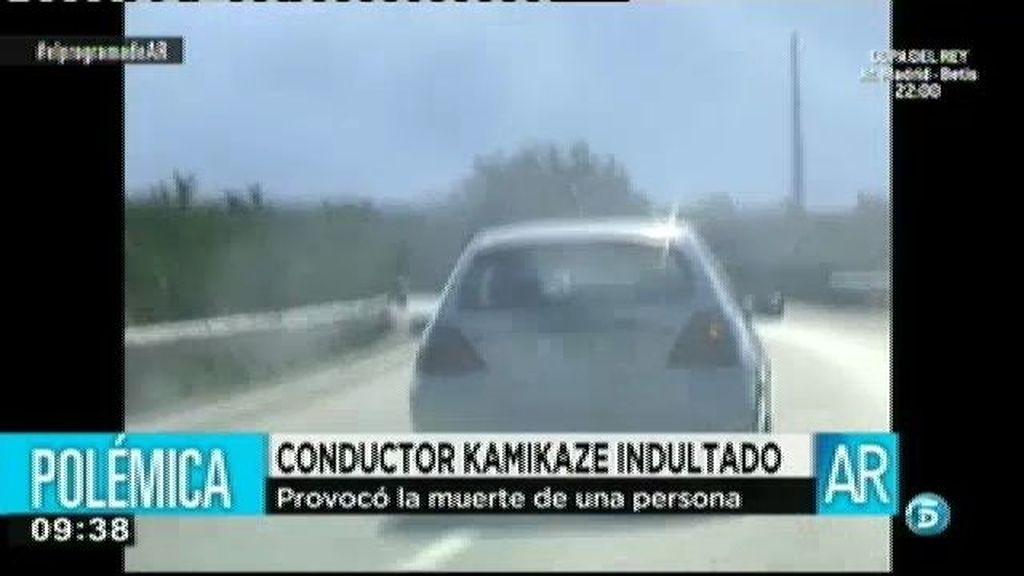 El Gobierno indulta a un conductor kamikaze que mató a un joven