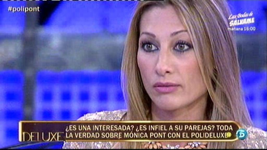 Mónica Pont reconoce que fue infiel al padre de su hijo