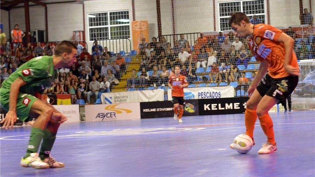 El Xota Navarra se saca la espina de la primera jornada y gana al Burela (1-2)