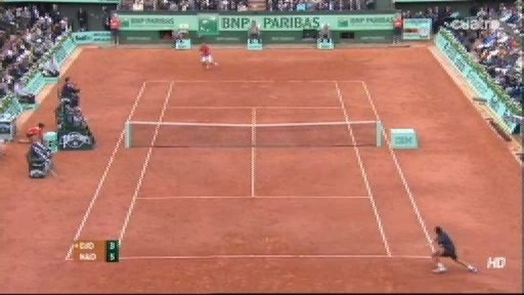 Puntazo de Djokovic