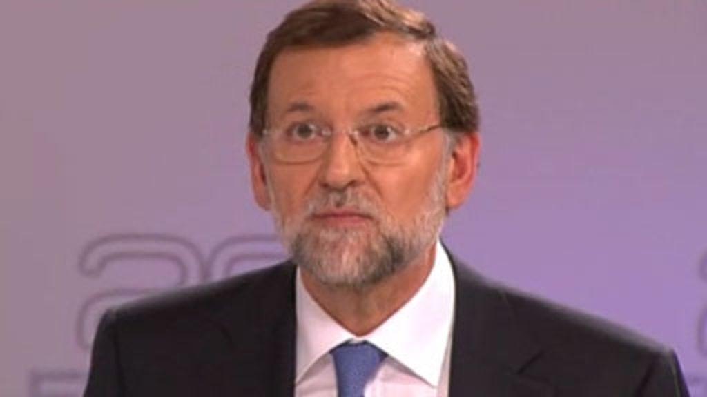"""Rajoy: """"Yo no soy como usted, lo que no llevo en mi programa no lo hago"""""""