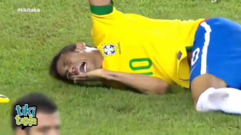¿Fue Portugal a la caza de Neymar?