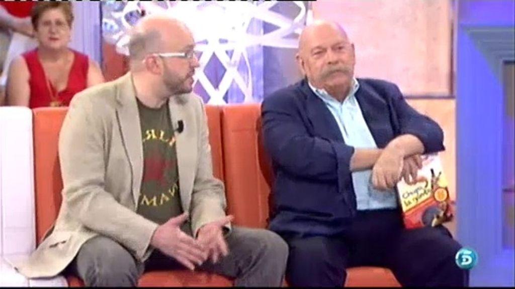'Chupa la gamba', el nuevo libro de José Mª íñigo y David Zurdo