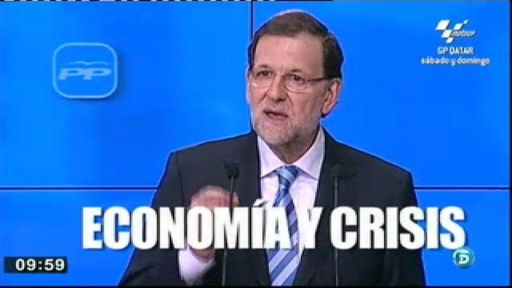 """Mariano Rajoy: """"La economía española crecerá con claridad"""""""