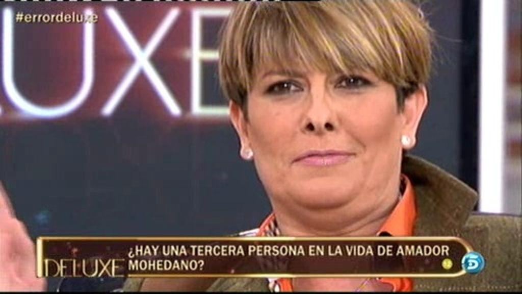Patiño se encara con Mari Carmen 'Error'