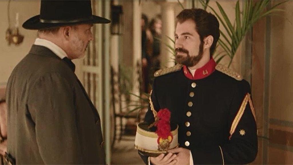 El teniente Ruiz le pide a Lobo que formalice la deuda del pueblo
