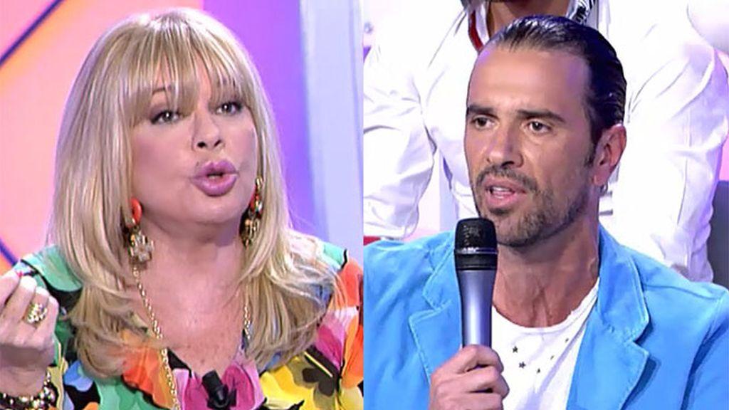 """Roberto, a Bárbara Rey: """"Pareces una radio rota"""""""