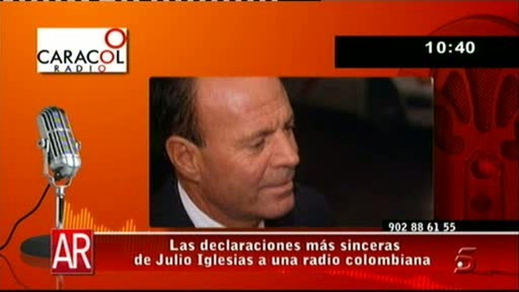 Julio Iglesias se sincera