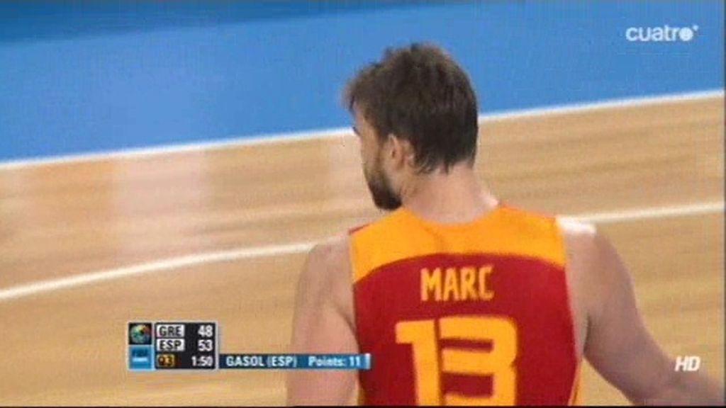 Marc reaparece con 11 puntos seguidos