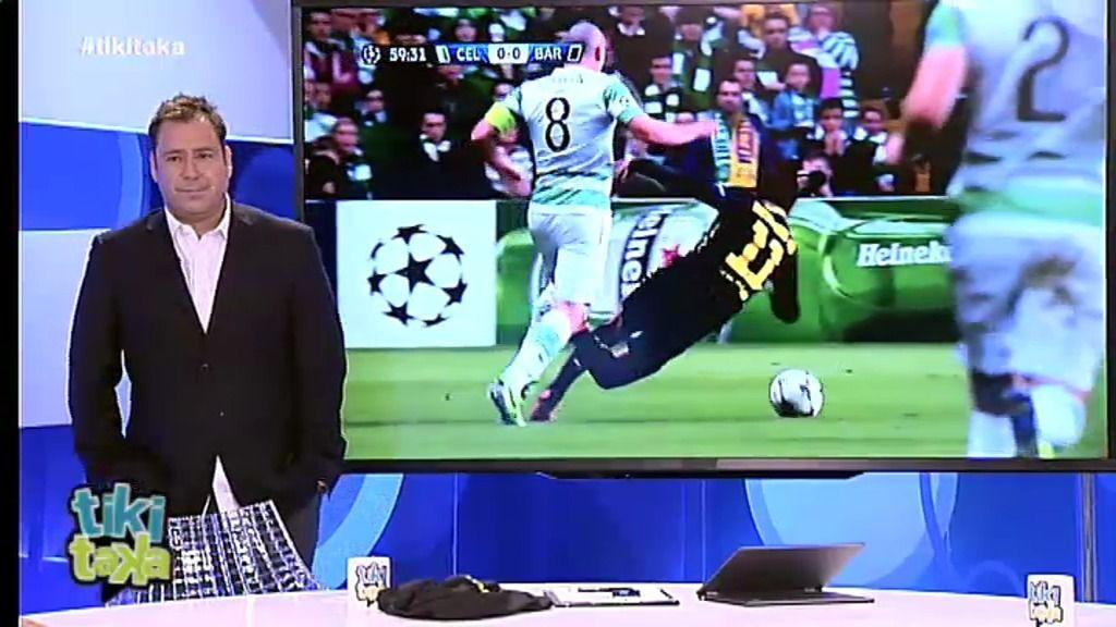 El vídeo de la jugada: ¿Es expulsión o exagera Neymar?