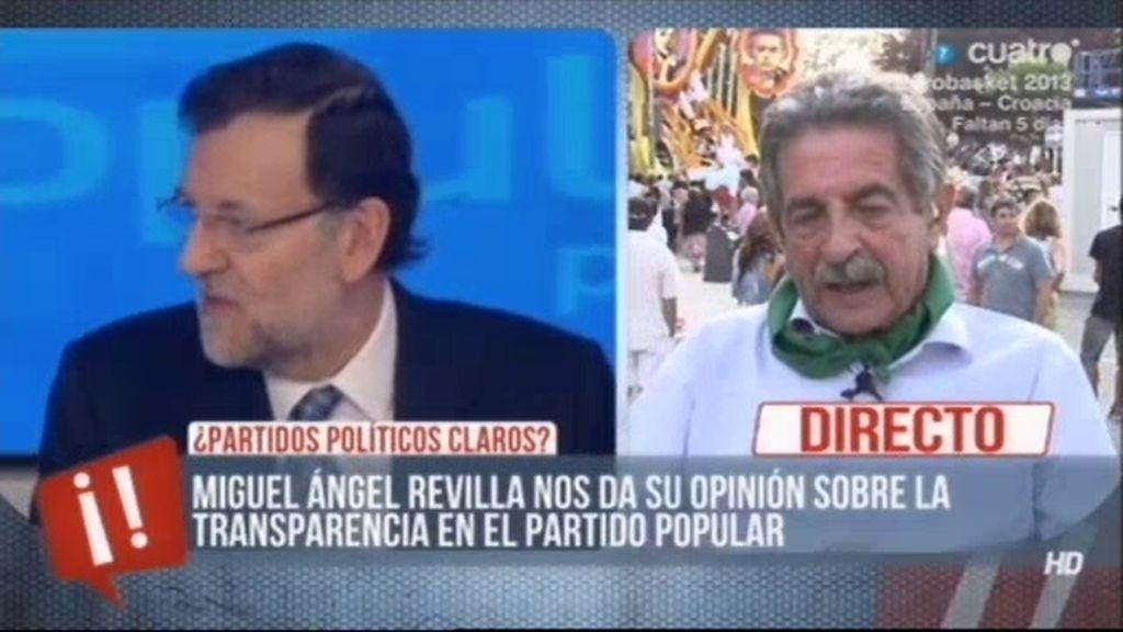 """Revilla, sobre el caso Bárcenas: """"Nadie se cree las explicaciones que el PP está dando"""""""