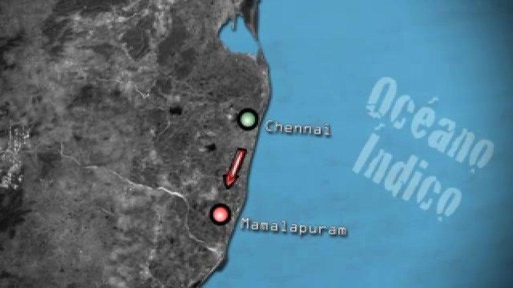 Mamalapuram, la zona costera
