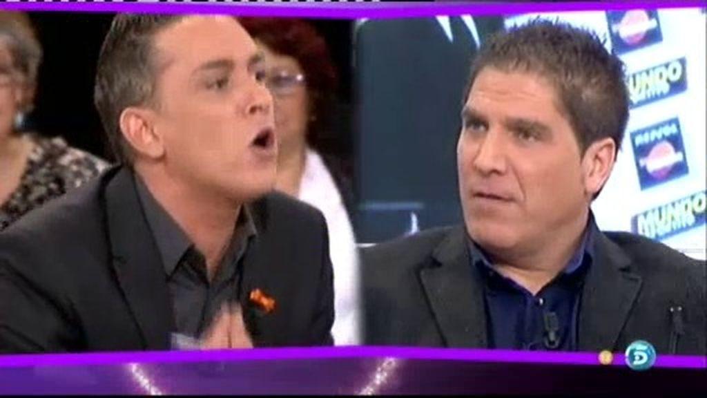 Kiko Hernández habla con Pep Santacana