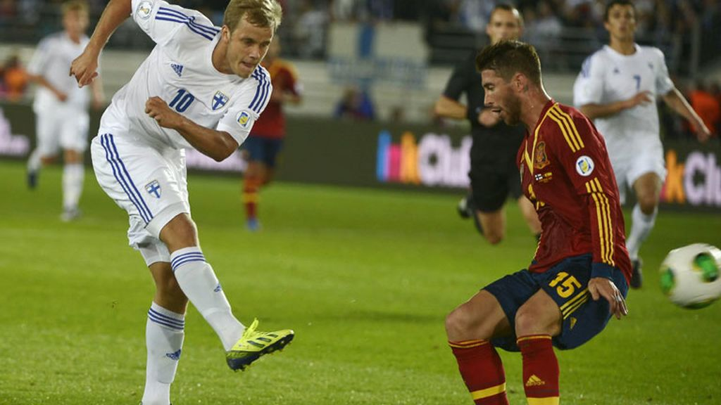 Primera Parte: Finlandia 0 - España 1