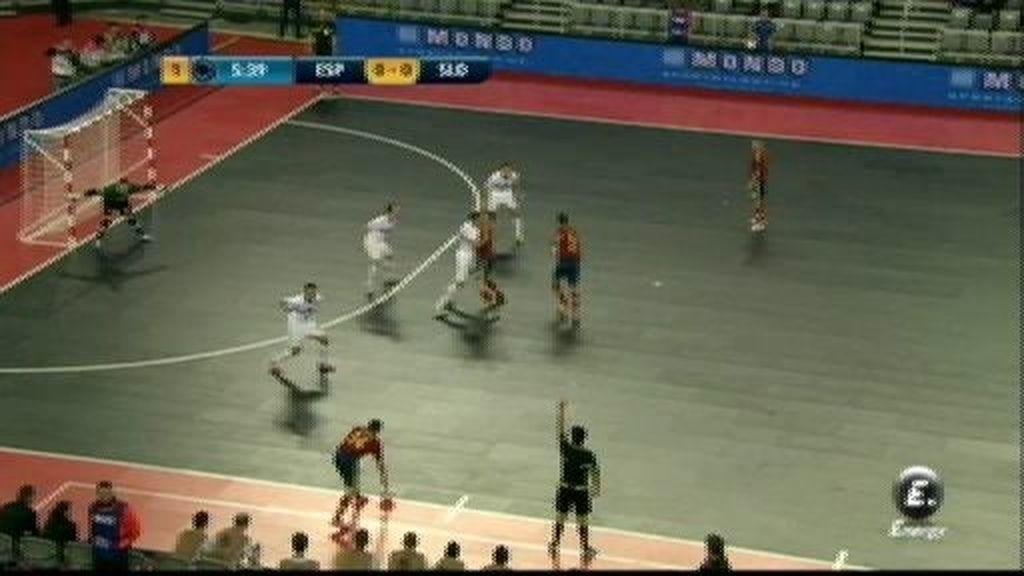 España se adelanta en el marcador