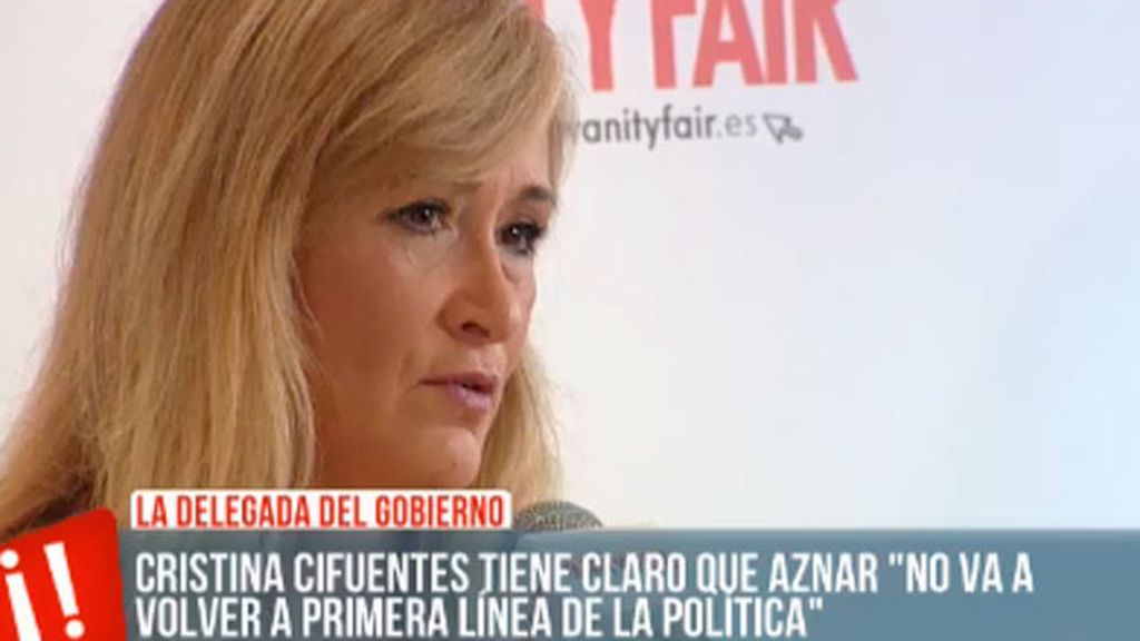 "Cristina Cifuentes: ""No me gustaría ser alcaldesa de Madrid"""
