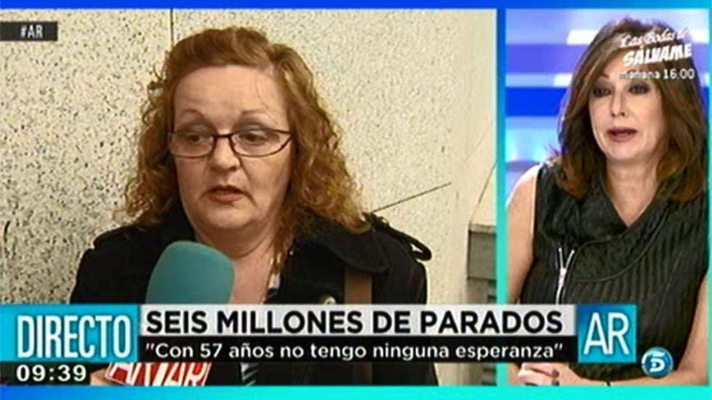 """Consuelo: """"Si pagas no comes y si comes no pagas"""""""