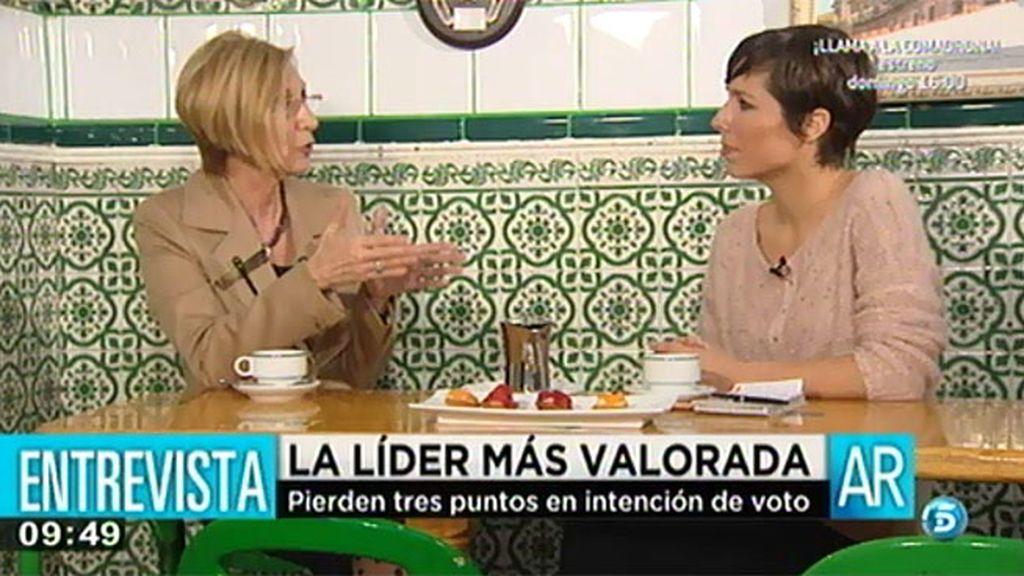 """Rosa Díez: """"Contra Toni Cantó ha habido un linchamiento"""""""