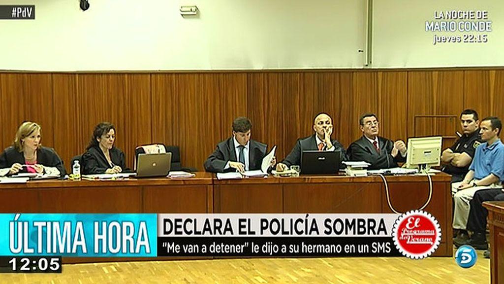 El policía sombra reconoce que se pisó la hoguera de Las Quemadillas