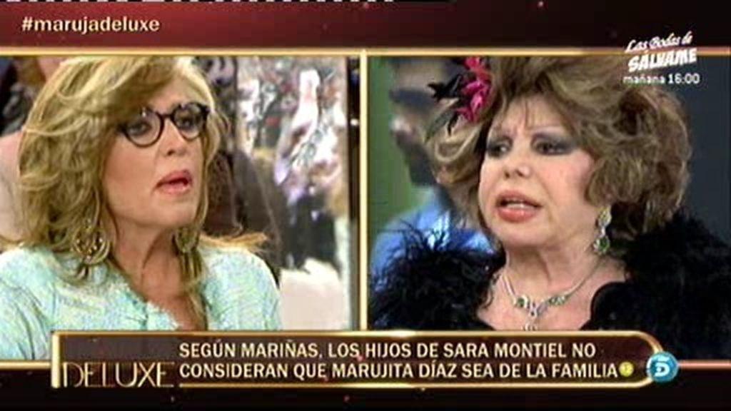 Marujita se enfrenta con Lydia Lozano