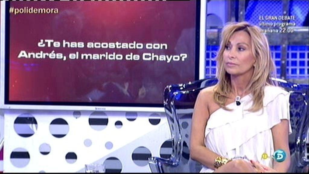 El polideluxe confirma que María de Mora se ha acostado con Andrés