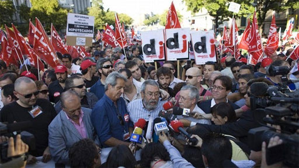 Los sindicatos salen a la calle