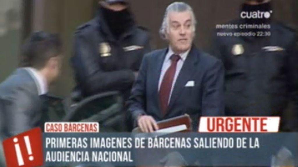 El juez prohíbe a Bárcenas salir de España