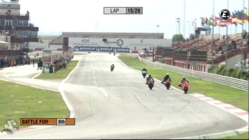 Carrera de Superstock 600 del Campeonato Europeo de Velocidad en Albacete