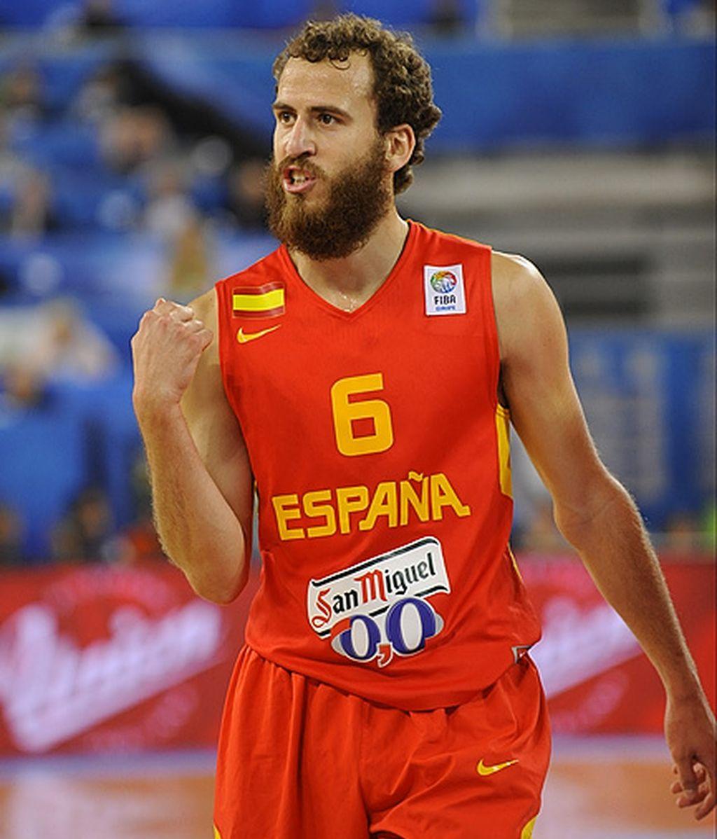 Sergio Rodríguez da una lección magistral en el segundo cuarto ante Serbia