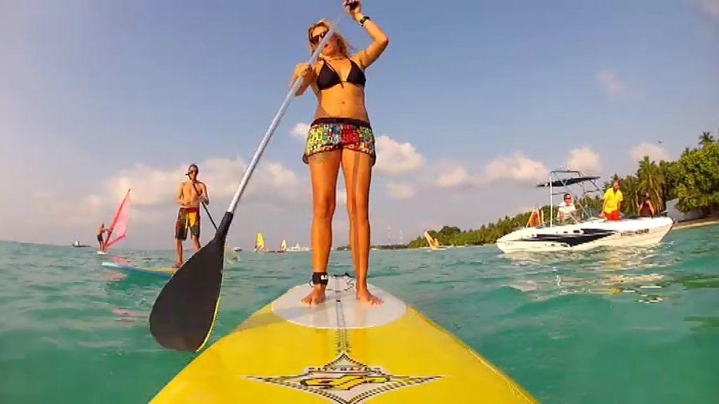 Amanda, a Maldivas por amor al mar
