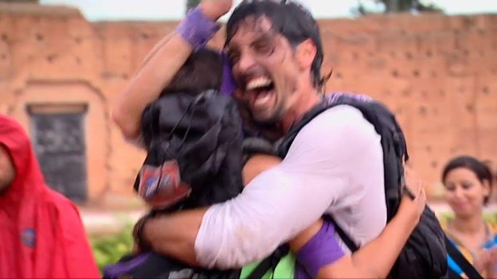 Felipe y Noelia, flamantes ganadores de 'Expedición Imposible'