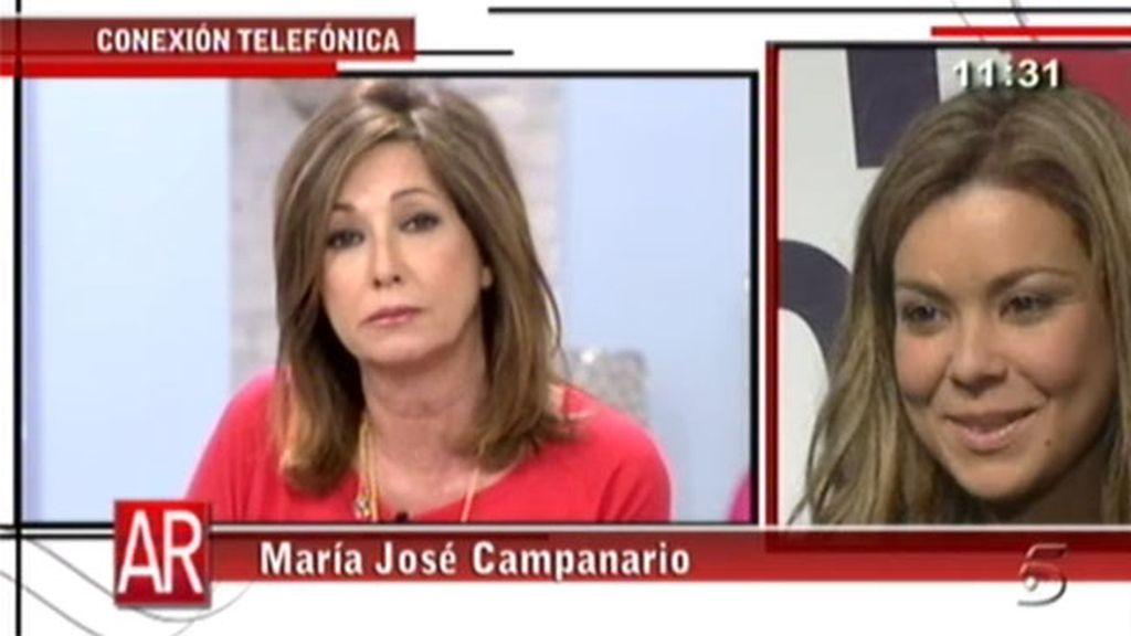 María José Campanario Se Derrumba