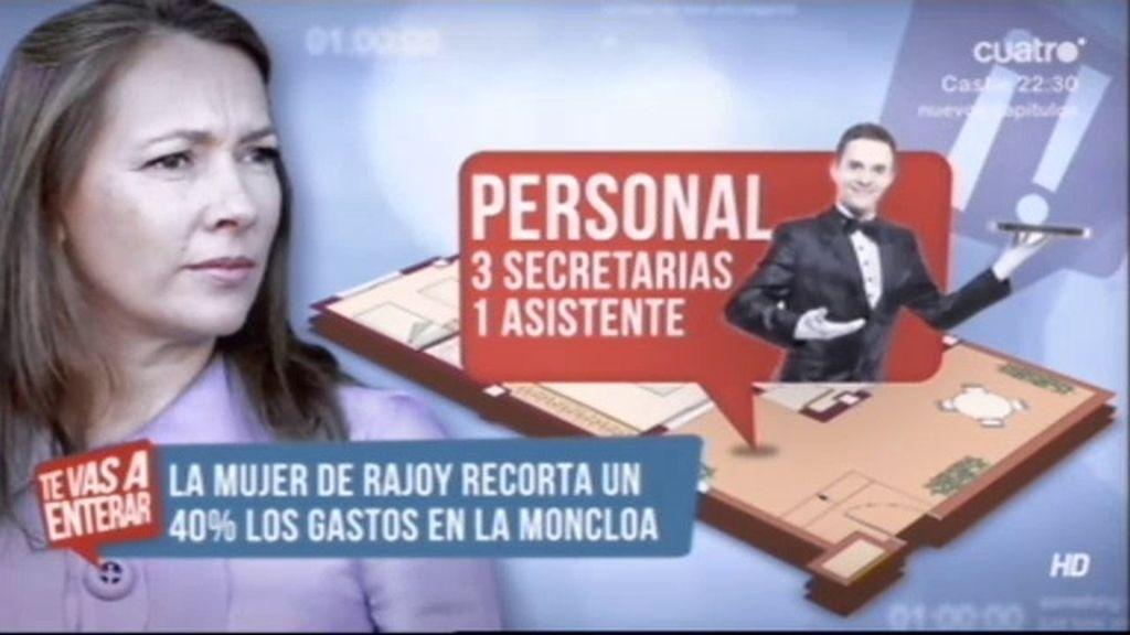 Así es el plan de recorte de la mujer de Rajoy