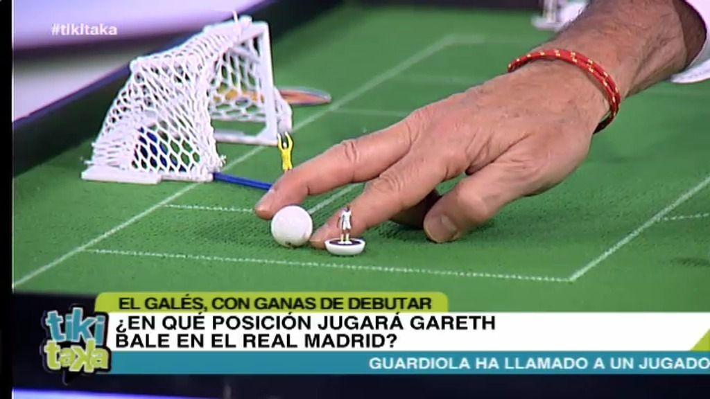 ¿Dónde podría jugar Bale en el Real Madrid?