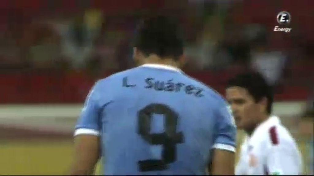 Gol: Uruguay 8-0 Tahití (min.90)