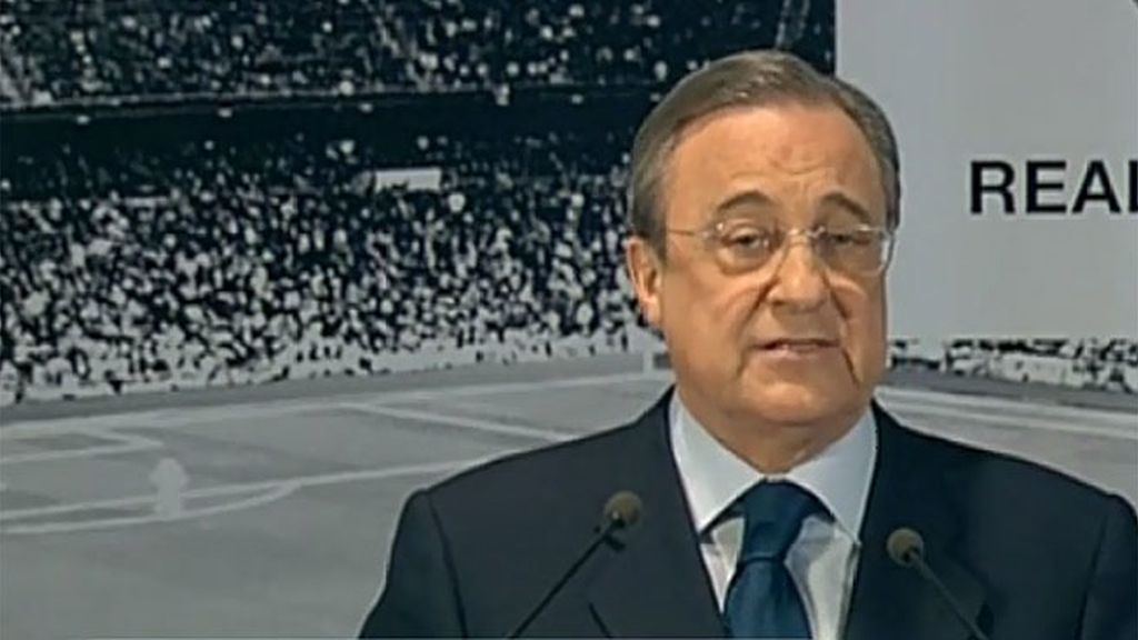 """Florentino Pérez: """"Es rotundamente falso que se plantease ningún tipo de ulitmátum respecto al entrenador"""""""