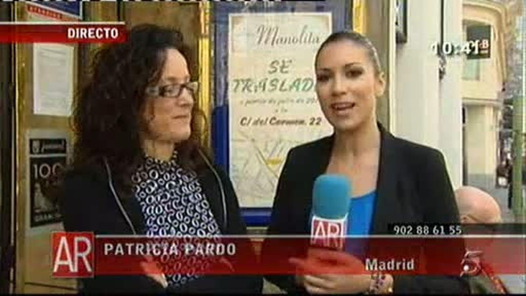 Doña Manolita se traslada