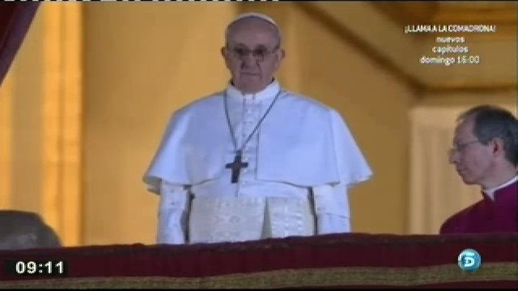 El Papa Francisco I ya se ha ganado a los fieles