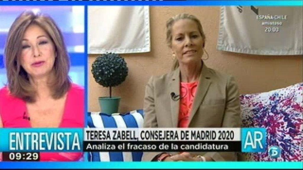 "Teresa Zabell, miembro del Coe: ""Jamás dijimos que teníamos 50 votos"""