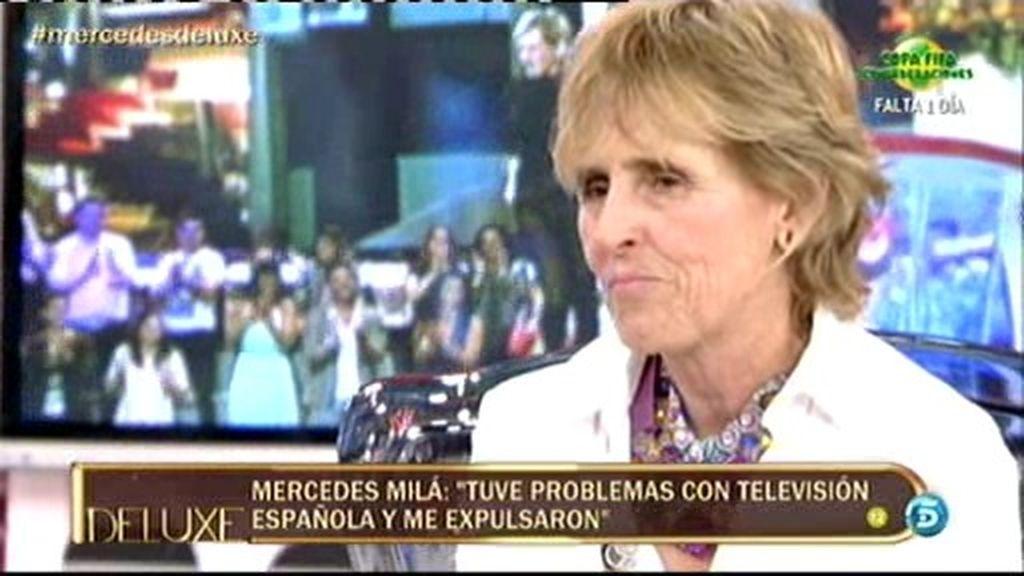 """Mercedes Milá: """"Me veo y me 'reveo' todas mis apariciones en televisión"""""""
