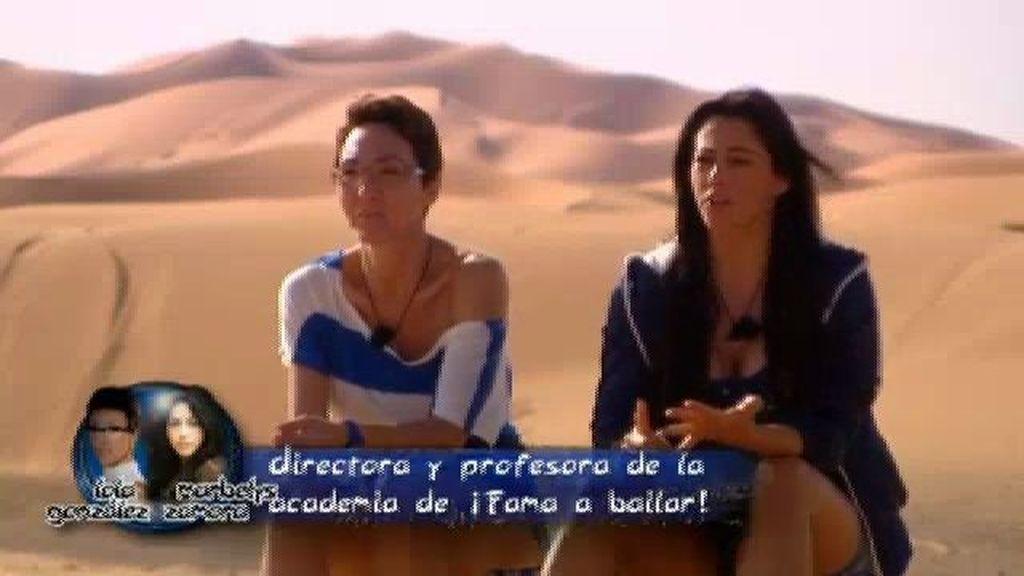 Equipo Azul: Marbelys y Lola González