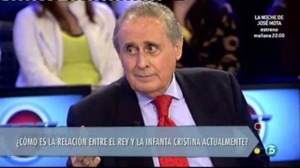 """José Luis Cobo: """"El Rey seguía echando una mano a su yerno después de abandonar Nóos"""""""