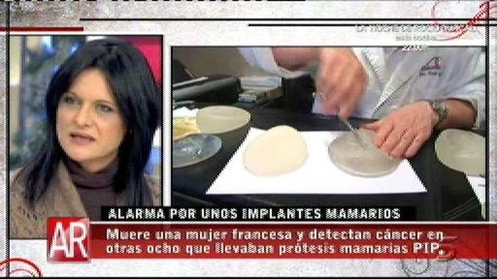 """Eva Giménez: """"La prótesis PIP se reventó en mi interior y me produjo un seroma"""""""