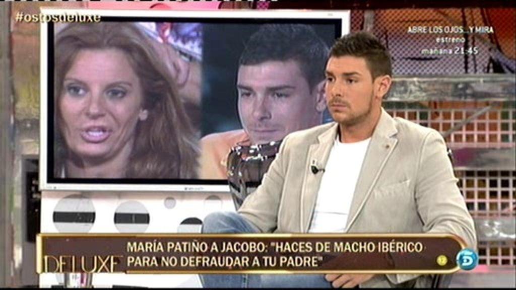 """Jacobo Ostos: """"Sonia Monroy me ponía cuando era joven pero ahora ya no"""""""