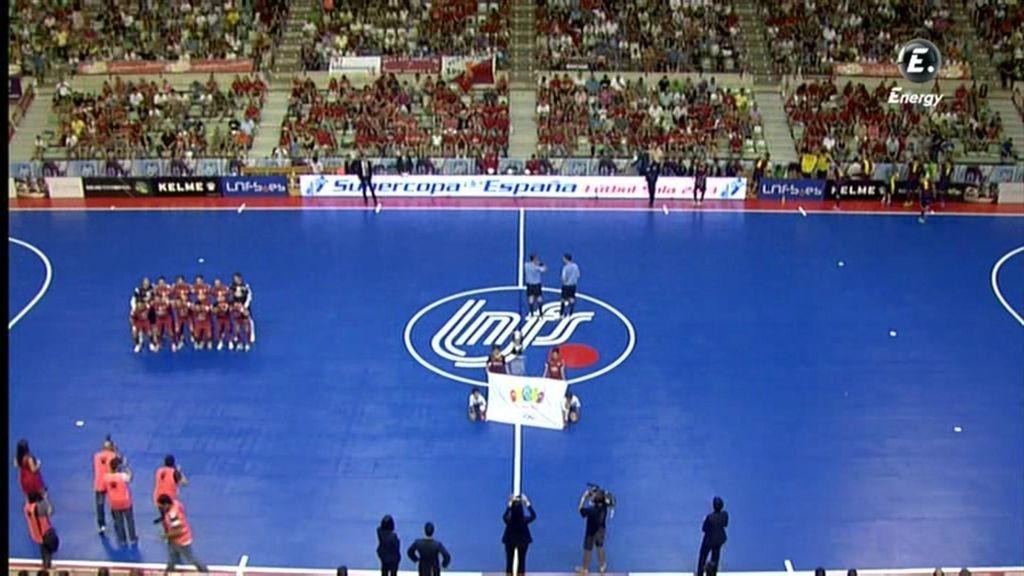 Resumen de la primera parte: El Pozo de Murcia 0-0 FCB Alusport