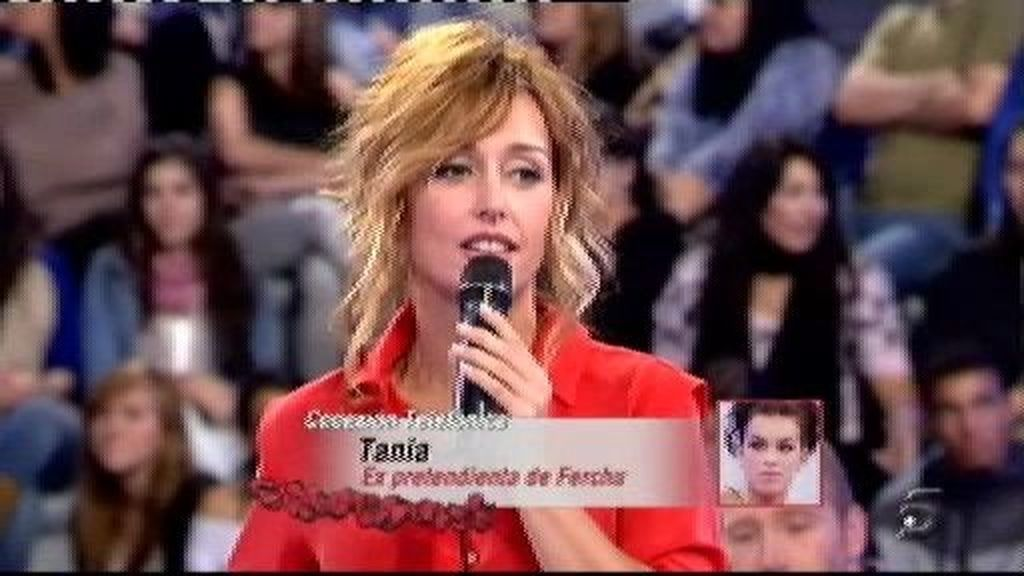 Tania niega que José Luis haya tonteado con ella
