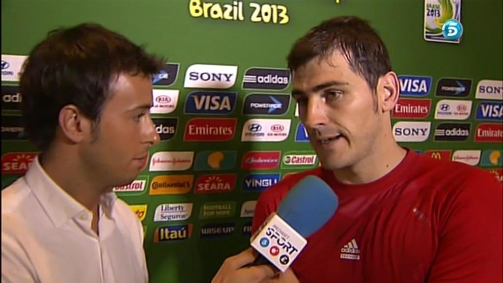 """Iker Casillas: """"Una final más es inolvidable"""""""