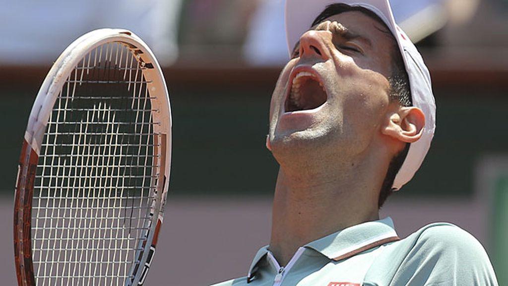 El cabreo de Djokovic