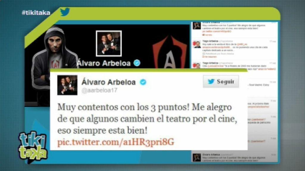 La guerra dialéctica en Twitter entre Piqué y Arbeloa se traslada a Tiki Taka